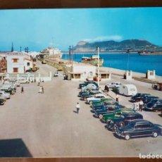 Postales: POSTAL DEL PUERTO DE ALGECIRAS (CADIZ). AL FONDO GIBRALTAR. Lote 97803899