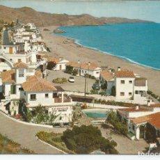 Postales: POSTAL FUENGIROLA (MALAGA) - PLAYA CARVAJAL - DOMINGUEZ 1962. Lote 97883579