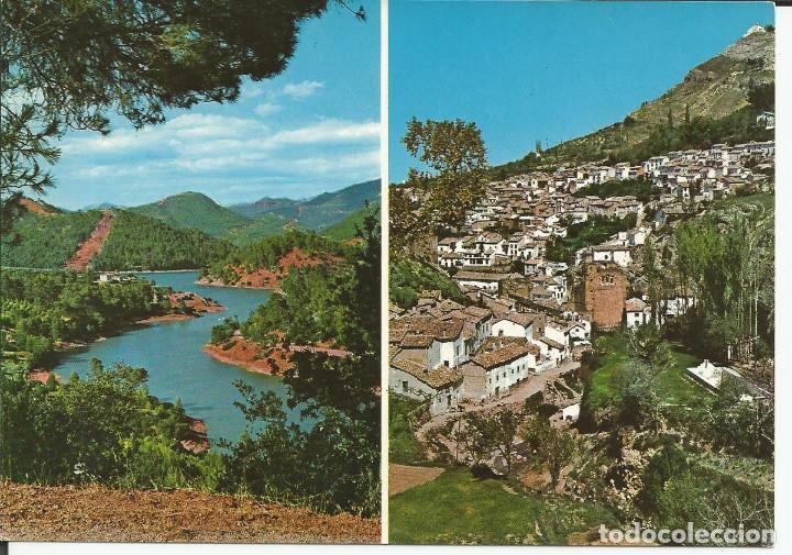 POSTAL CAZORLA (JAÉN) - VISTA PARCIAL PANTANO - FOTO SAN ANTONIO 1968 (Postales - España - Andalucia Moderna (desde 1.940))