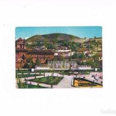 Postales: POSTAL ANTIGUA ANDALUCIA GRANADA SIN CIRCULAR JARDINES Y FUENTE MONUMENTAL TRIUNFO ESCRITA. Lote 97945471