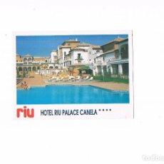Postales: POSTAL ANTIGUA ANDALUCIA HUELVA SIN CIRCULAR HOTEL RIU PALACE CANELA PLAYA ISLA CANELA AYAMONTE. Lote 97954283
