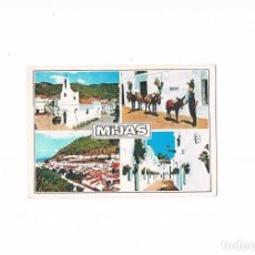 Postales: POSTAL ANTIGUA ANDALUCIA MALAGA SIN CIRCULAR MIJAS COSTA DEL SOL DIVERSOS ASPECTOS ESCRITA DETRAS. Lote 97955839
