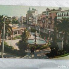 Postales: CADIZ AVENIDA PASEO DE RAMON DE CARRANZA SIN CIRCULAR. Lote 98782311