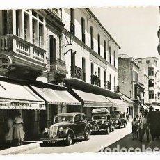 Postales: CADIZ LA LINEA DE LA CONCEPCION CALLE JOSE ANTONIO. ED. GARCIA GARRABELLA 8. CIRCULADA. Lote 98796539
