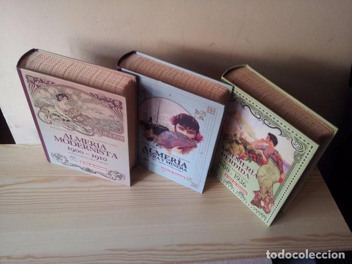 ALMERIA MODERNISTA / LA ALMERIA PERDIDA / ALMERIA UVERA Y MINERA - 3 ALBUMES INCOMPLETOS - LEER (Postales - España - Andalucía Antigua (hasta 1939))