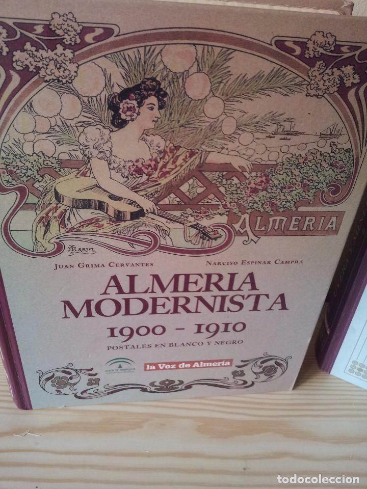 Postales: ALMERIA MODERNISTA / LA ALMERIA PERDIDA / ALMERIA UVERA Y MINERA - 3 ALBUMES INCOMPLETOS - LEER - Foto 2 - 99785395