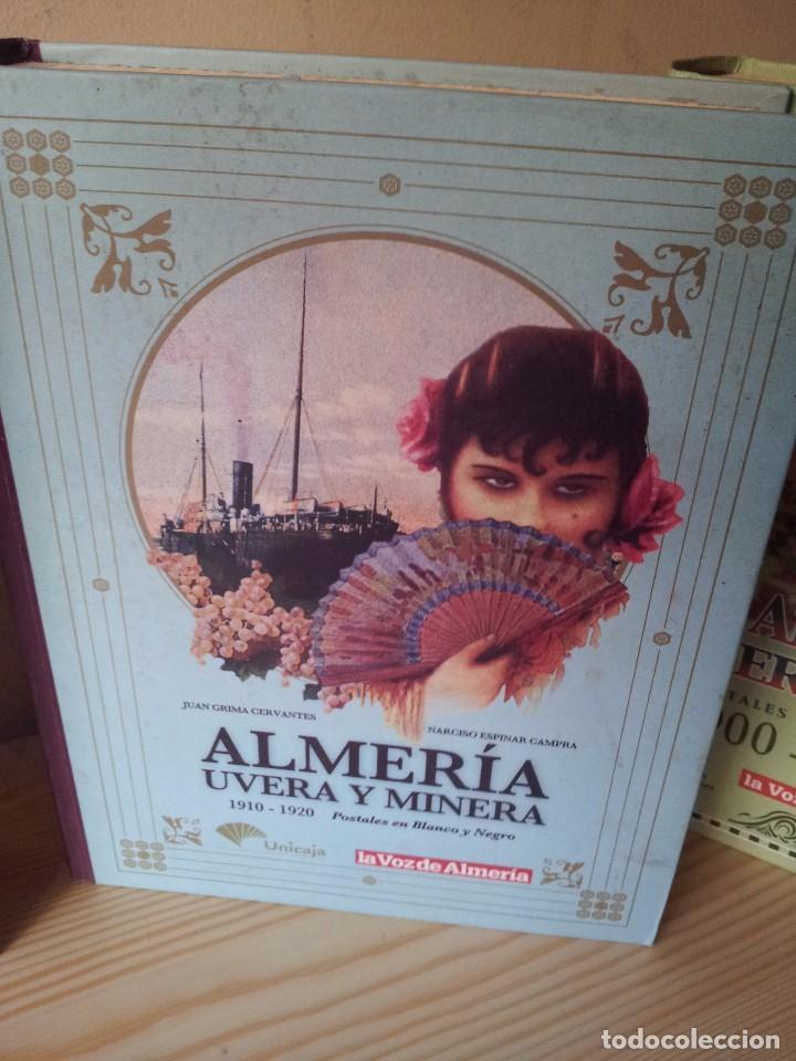 Postales: ALMERIA MODERNISTA / LA ALMERIA PERDIDA / ALMERIA UVERA Y MINERA - 3 ALBUMES INCOMPLETOS - LEER - Foto 3 - 99785395
