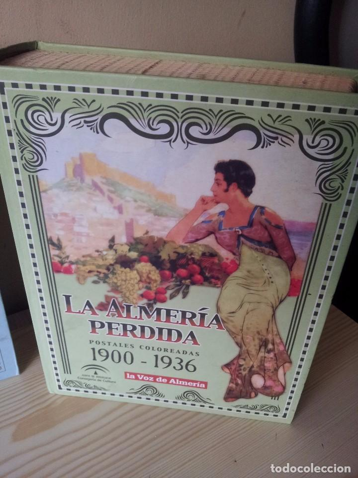 Postales: ALMERIA MODERNISTA / LA ALMERIA PERDIDA / ALMERIA UVERA Y MINERA - 3 ALBUMES INCOMPLETOS - LEER - Foto 4 - 99785395