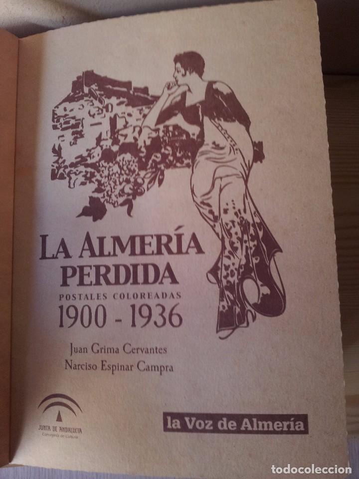 Postales: ALMERIA MODERNISTA / LA ALMERIA PERDIDA / ALMERIA UVERA Y MINERA - 3 ALBUMES INCOMPLETOS - LEER - Foto 10 - 99785395