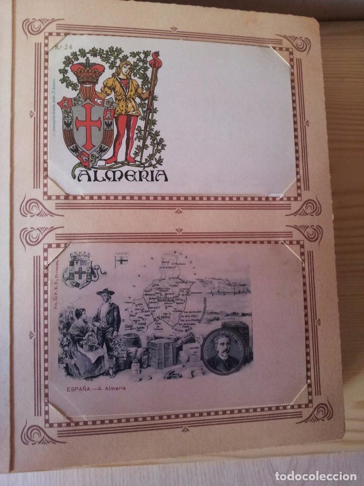 Postales: ALMERIA MODERNISTA / LA ALMERIA PERDIDA / ALMERIA UVERA Y MINERA - 3 ALBUMES INCOMPLETOS - LEER - Foto 11 - 99785395