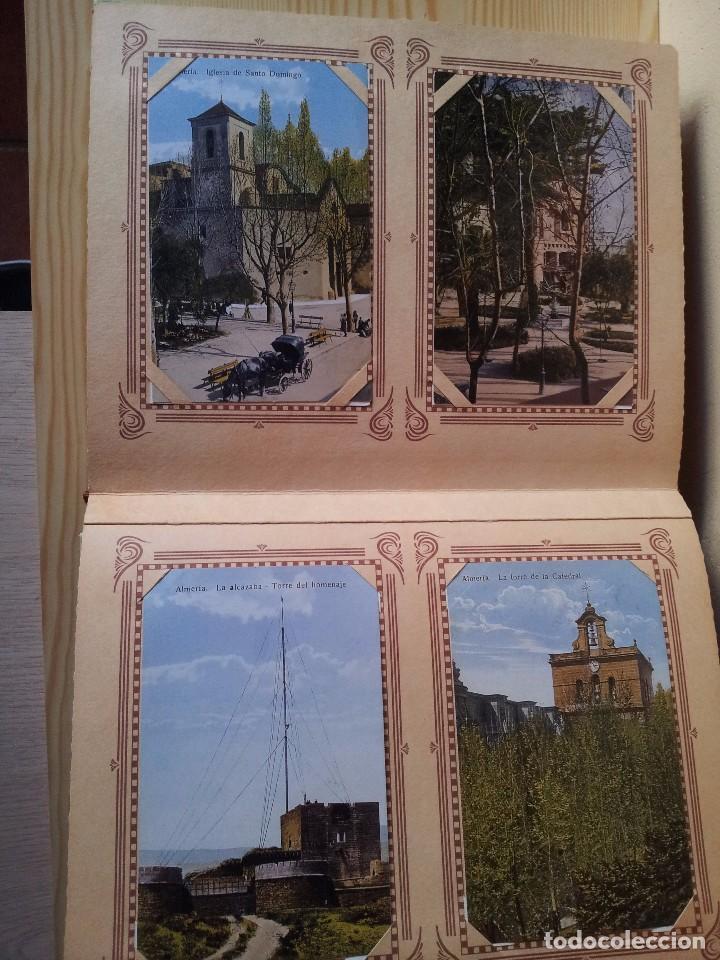 Postales: ALMERIA MODERNISTA / LA ALMERIA PERDIDA / ALMERIA UVERA Y MINERA - 3 ALBUMES INCOMPLETOS - LEER - Foto 13 - 99785395