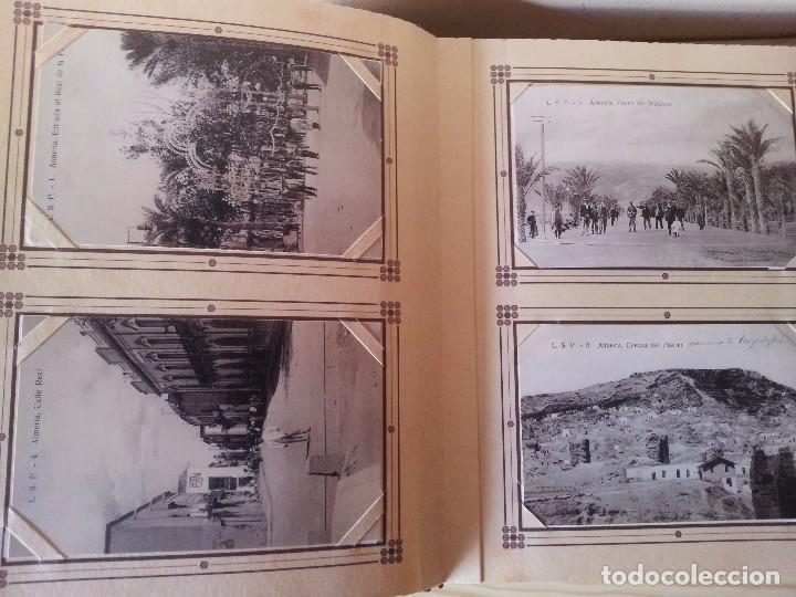 Postales: ALMERIA MODERNISTA / LA ALMERIA PERDIDA / ALMERIA UVERA Y MINERA - 3 ALBUMES INCOMPLETOS - LEER - Foto 16 - 99785395