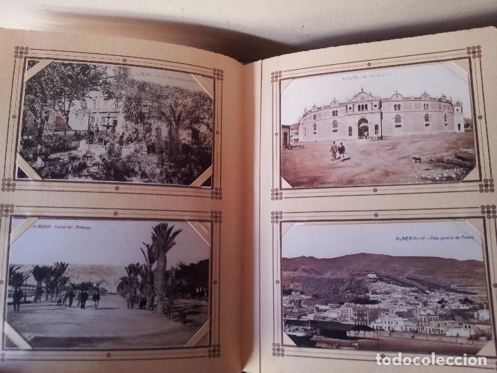 Postales: ALMERIA MODERNISTA / LA ALMERIA PERDIDA / ALMERIA UVERA Y MINERA - 3 ALBUMES INCOMPLETOS - LEER - Foto 17 - 99785395