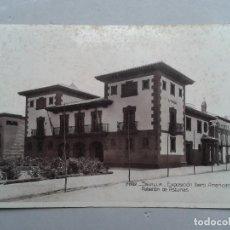 Postales: SEVILLA. EXPOSICIÓN IBERO - AMERICANA. PABELLÓN DE ASTURIAS. . Lote 99879027