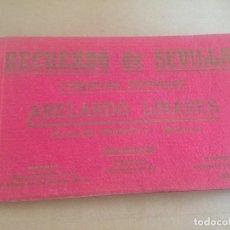 Postales: ANTIGUAS POSTALES TACO BLOC RECUERDO DE SEVILLA ABELARDO LINARES. Lote 100048387