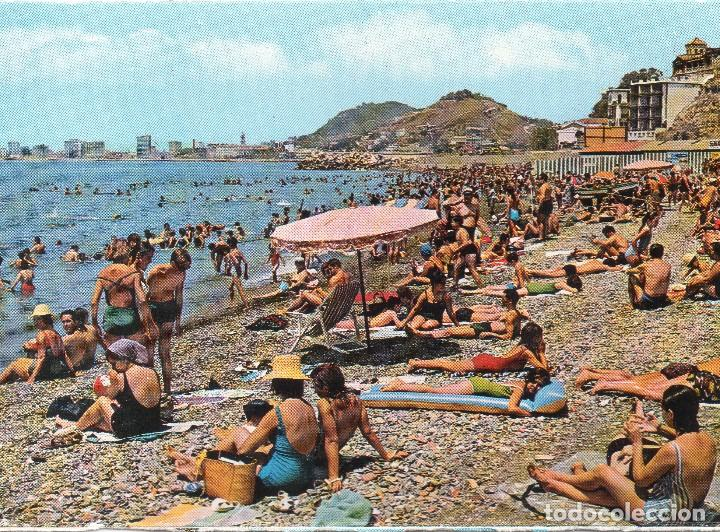 Malaga Playa De Los Banos Del Carmen Comprar Postales De