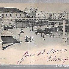 Postales: TARJETA POSTAL DE CADIZ - LA ENTRADA. 116. HAUSER Y MENET. Lote 100561975