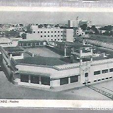Postales: TARJETA POSTAL DE CADIZ - PISCINA. 315. L.ROISIN. Lote 100562107