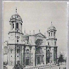 Postales: TARJETA POSTAL DE CADIZ - LA CATEDRAL. 859. HUASER Y MENET. Lote 100562343