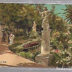 Postales: TARJETA POSTAL DE CADIZ - LA PLAZA DE MINA. PETRACCHI & NOTERMANN.. Lote 100562687
