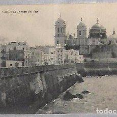 Postales: TARJETA POSTAL DE CADIZ - EL CAMPO DEL SUR. HAUSER Y MENET. Lote 100562867