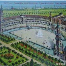 Postales: 10 POSTALES SEVILLA EXPOSICIÓN IBERO-AMERICANA 1930. Lote 100746087