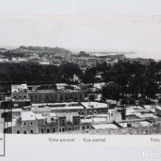 Postales: ANTIGUA POSTAL FOTOGRAFICA - MELILLA, VISTA PARCIAL - EDICIONES AGFA - SIN CIRCULAR. Lote 101266575