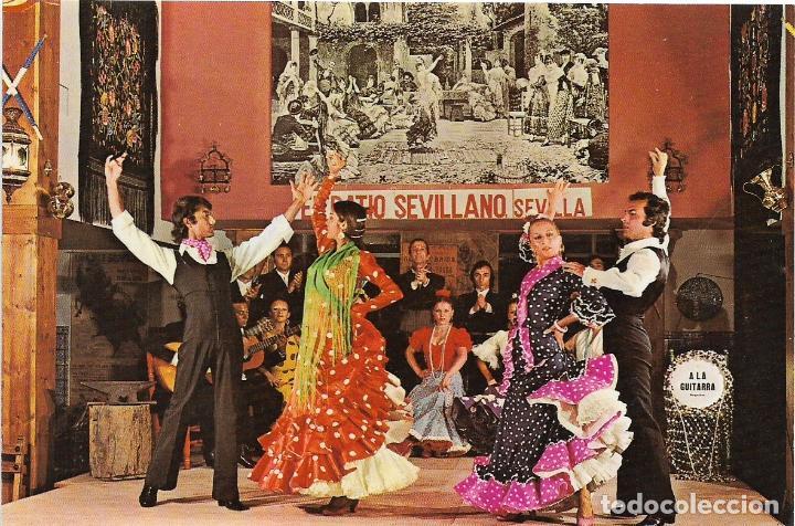 Espana Patio Sevillano Tablao Flamenco Garc Comprar Postales