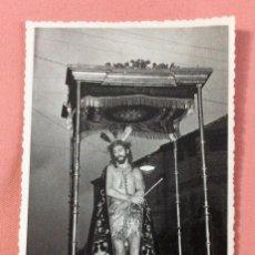 Postales: FOTOGRAFÍA FORMATO POSTAL. CRISTO DE LA HUMILDAD. FOTO BARAS. UBEDA. JAÉN.. Lote 101344731