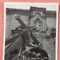 Postales: FOTOGRAFÍA FORMATO POSTAL. SANTÍSIMO CRISTO DE LA CAÍDA. FOTO BARAS. UBEDA. JAÉN.. Lote 101345423