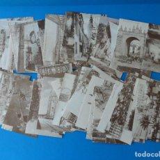 Postales: LOTE DE 63 POSTALES LA SEVILLA QUE SE FUE - DIARIO 16 ANDALUCÍA - REPLICAS DE POSTALES ANTIGUAS. Lote 101448895