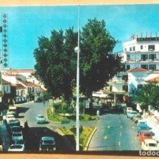 Postales: TORREMOLINOS - PLAZA COSTA DEL SOL. Lote 101604179