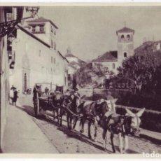 Postales: GRANADA: CARRERA DEL DARRO. J. M TORCIDA / EDIC. A.L.G. / FOURNIER. NO CIRCULADA (AÑOS 30). Lote 101701571