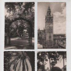 Postales: LOTE DE POSTALES DE SEVILLA AÑOS 50, GARCIA GARRABELLA. Lote 101996975