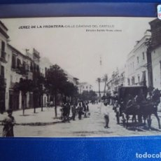 Postales: (PS-56735)POSTAL FOTOGRAFICA DE JEREZ DE LA FRONTERA-CALLE CANOVAS DEL CASTILLO. Lote 102069231