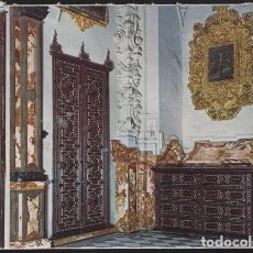 Postales: GRANADA - LA CARTUJA.- PUERTAS Y ARMARIOS TARACEA. SACRISTIA. Lote 102184675