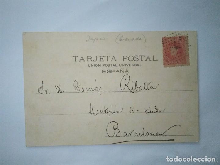 Postales: LAVADERO PÚBLICO EN JAYENA. COLECCIÓN CÁNOVAS. SERIE A, 8. - Foto 2 - 102614539