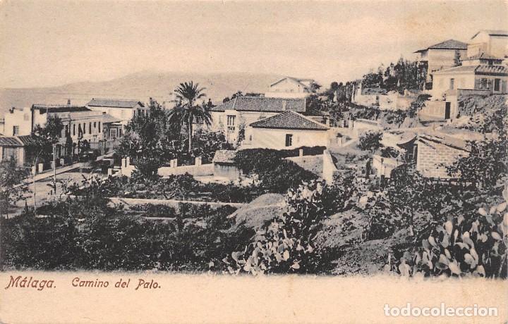 MÁLAGA.- CAMINO DEL PALO (Postales - España - Andalucía Antigua (hasta 1939))