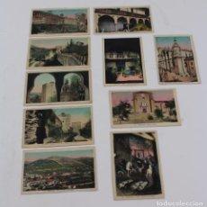 Postales: P- 7790. LOTE DE 10 POSTALES GRANADA, COLOREADAS. L. ROISIN.. Lote 102809023