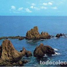 Postales: ALMERIA Nº 141 CABO DE GATA ARRECIFE DE LAS SIRENAS - ED ARRIBAS -. Lote 103061527