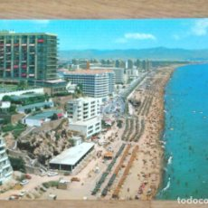 Postales: TORREMOLINOS - PLAYA DEL BAJONDILLO. Lote 103257411