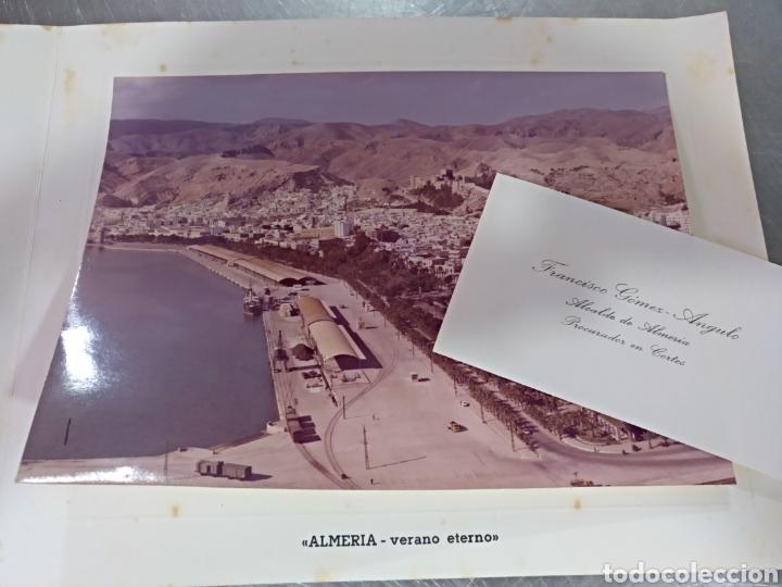 ANTIGUA FELICITACIÓN DE NAVIDAD .DEL AYUNTAMIENTO DE ALMERÍA ,ALCALDE GOMEZ ANGULO (Postales - España - Andalucia Moderna (desde 1.940))