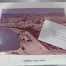 Postales: ANTIGUA FELICITACIÓN DE NAVIDAD .DEL AYUNTAMIENTO DE ALMERÍA ,ALCALDE GOMEZ ANGULO. Lote 103493439