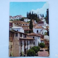 Postales: POSTAL GRANADA, CALLE TIPICA PLAZA DEL REALEJO, 111. Lote 103586523