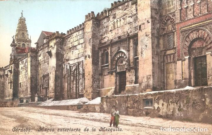 Cordoba Muros Exteriores De La Mezquita Comprar Postales Antiguas - Muros-exteriores