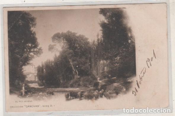 EL RIO JAYENA. COLECCIÓN CÁNOVAS SERIE D 1 GRANADA. CIRCULADA. REVERSO SIN DIVIDIR. (Postales - España - Andalucía Antigua (hasta 1939))