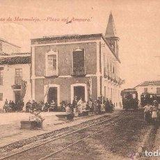 Postales: JAÉN MARMOLEJO VISTAS DE MARMOLEJO PLAZA DEL AMPARO 1920. Lote 104084367