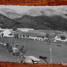 Postales: FOTO POSTAL DE CORTES DE LA FRONTERA (MALAGA) SIERRA BLANQUILLA DESDE LAS CAMARETAS, ARRIBAS 6, CIRC. Lote 104277283