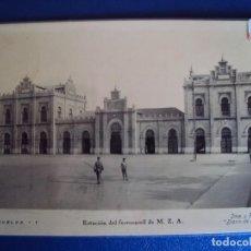 Postales: (PS-53684)POSTAL DE HUELVA-ESTACION DEL FERROCARRIL M.Z.A.. Lote 104289843
