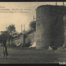 Postales: A-5730- CORDOBA. MURALLAS DEL ALCAZAR.. Lote 104297695